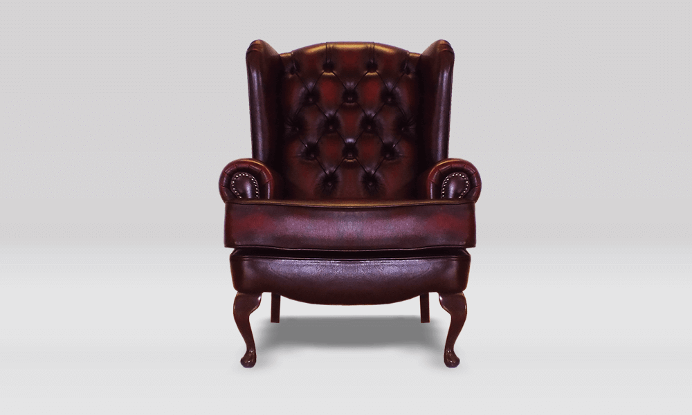 Chesterfield Cotswold Wing Chair - Antique Rust