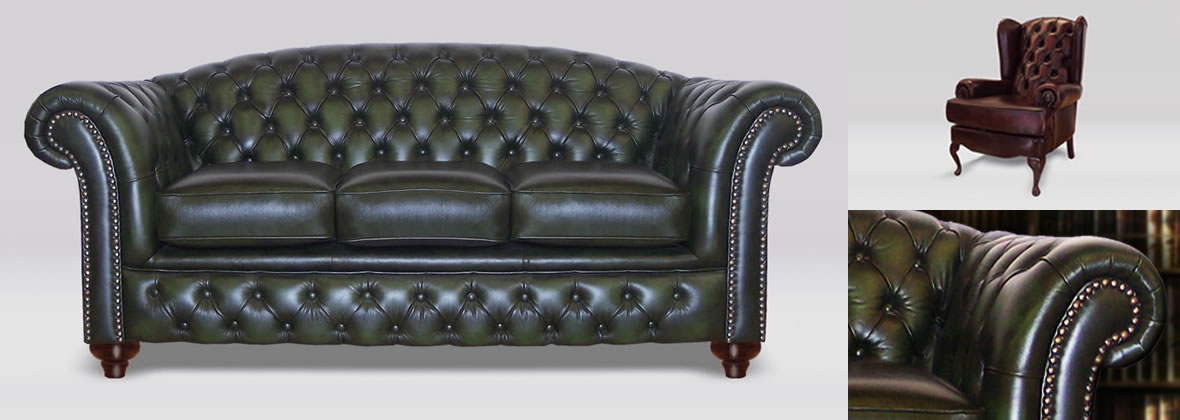 Chesterfield Sofas, Chesterfield Chairs & Chesterfield Stools