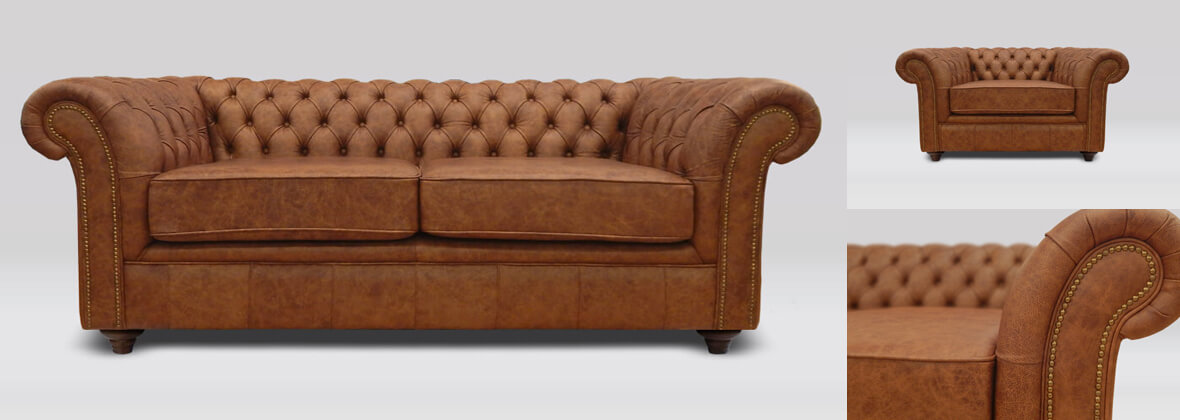 Buckingham classic style sofas + chairs
