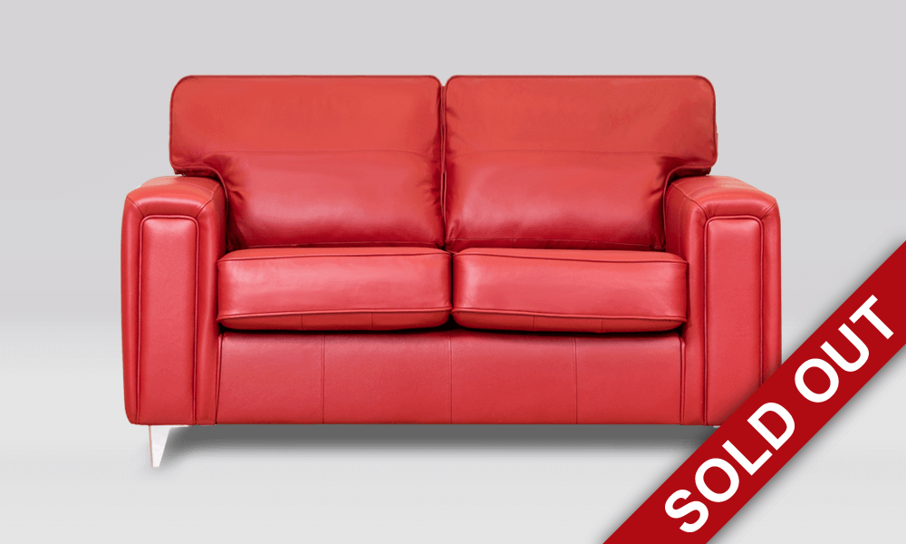Geneva 2 Seater Leather Sofa