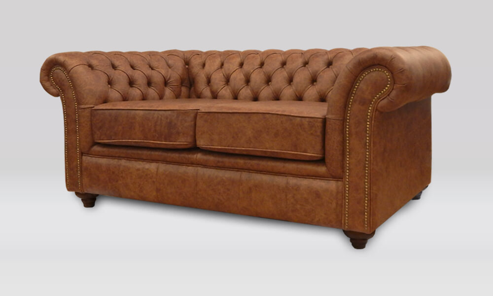 Buckingham 2 Seater Sofa - Saloon Whiskey