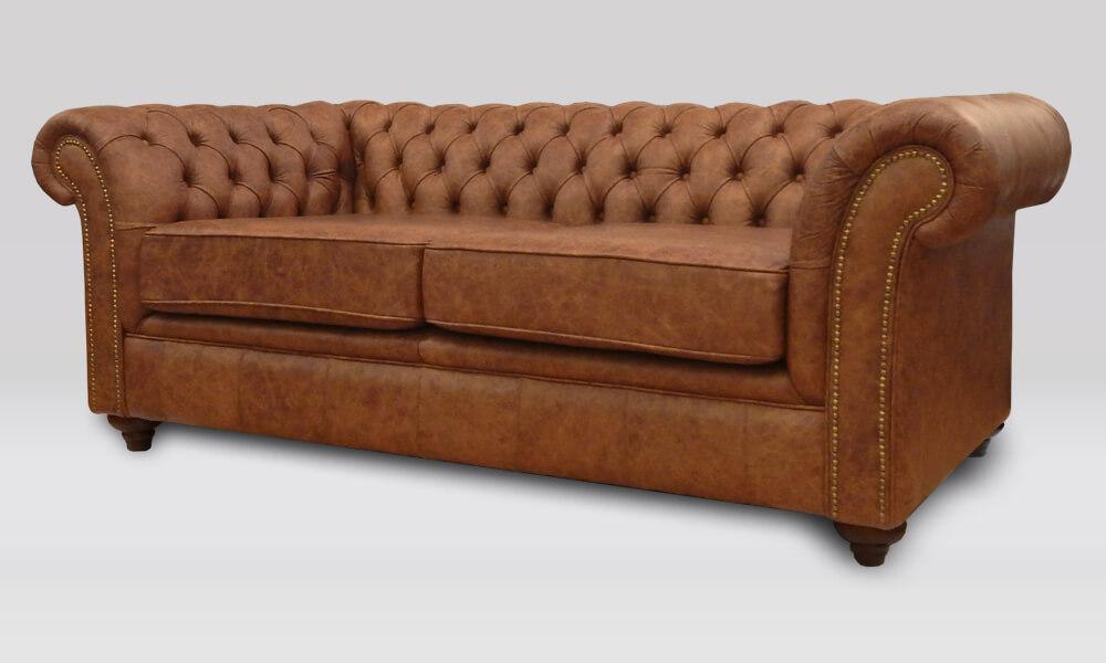 Buckingham 3 Seater Sofa - Saloon Whiskey