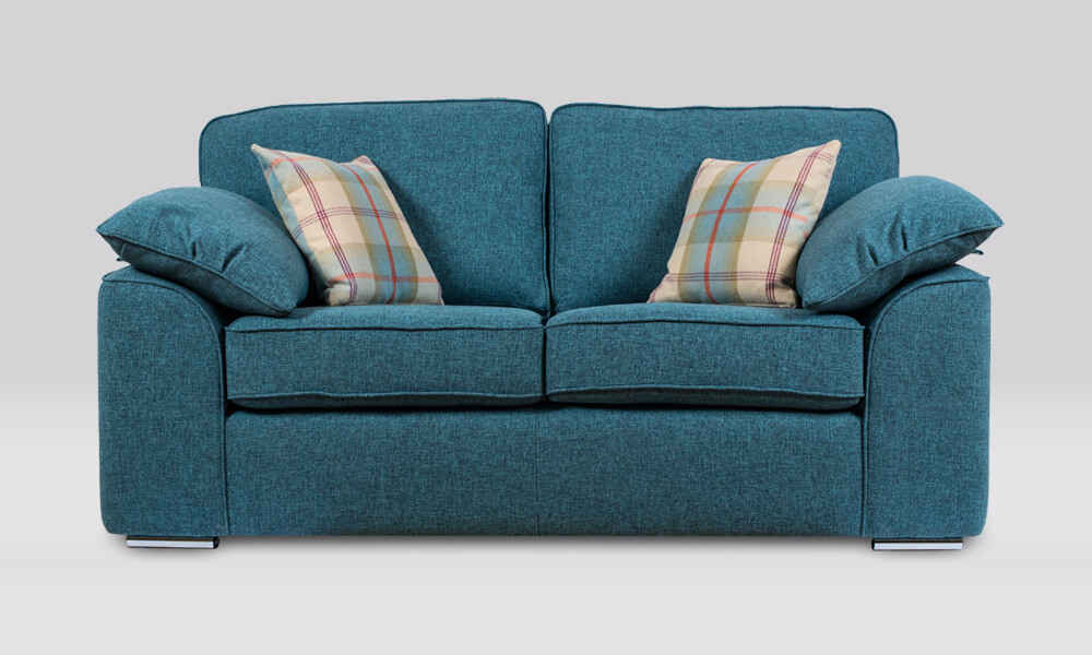 Josie 2 Seater Sofa in Quality Teal fabric