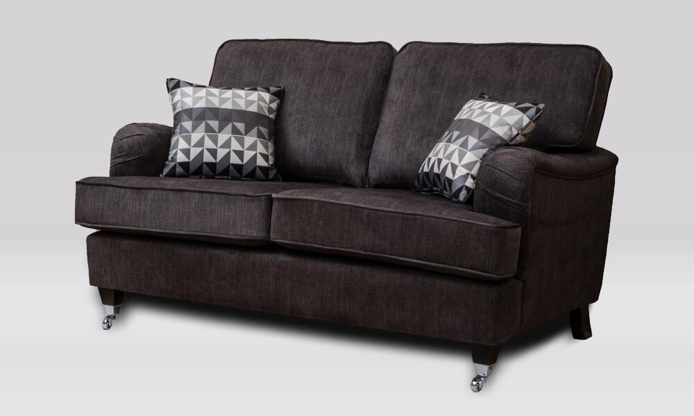 Soraya 2 Seater Sofa - Westbury Charcoal