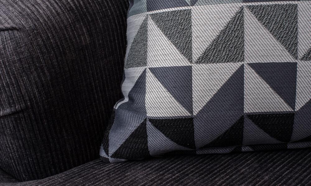Soraya 3 Seater Sofa - Westbury Charcoal