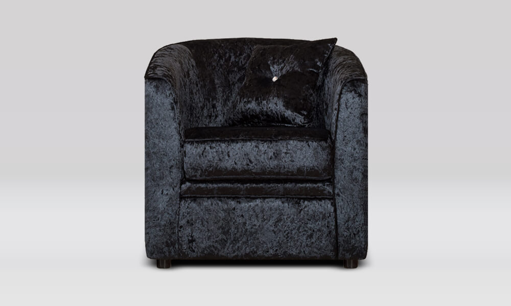 Tub Chair - Shimmer Black